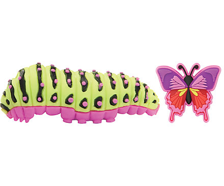 Caterpillar & Butterfly 3D 2-Pack