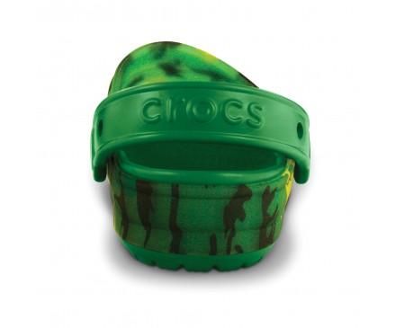 Kids' Translucent Clog Camo