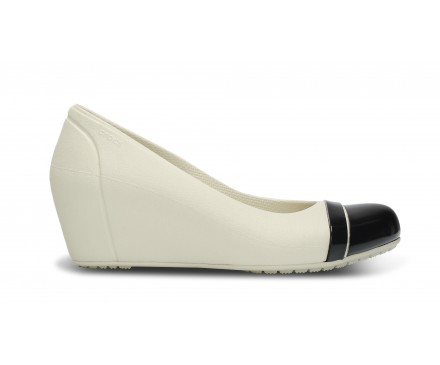 Women's Cap Toe Wedge