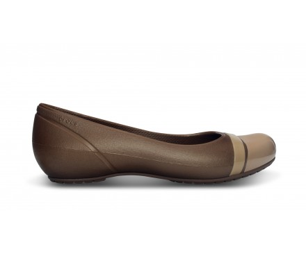 Women's Cap Toe Flat