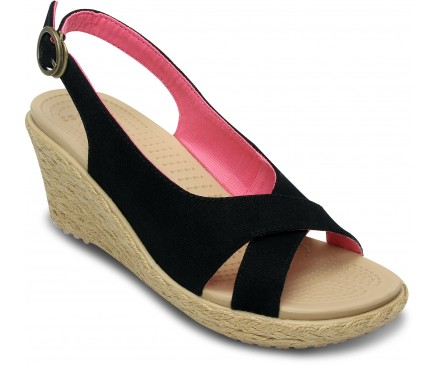 Women's A-Leigh Linen Wedge