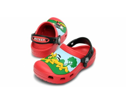 CC Mickey Whistles Clog Kids