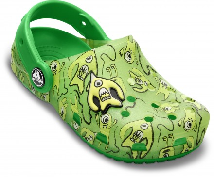 Crocs Chameleons Alien Pattern Clog Children's