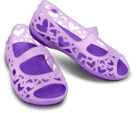 Girls' Adrina Hearts Flat (Children's)