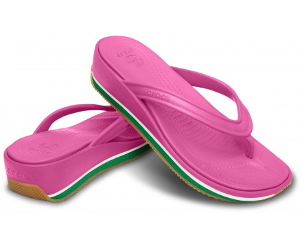 Women's Crocs Retro Flip Wedge