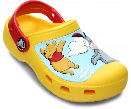 CC Winnie the Pooh Jumps Clog