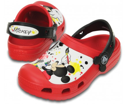 Creative Crocs Mickey™ Paint Splatter Clog