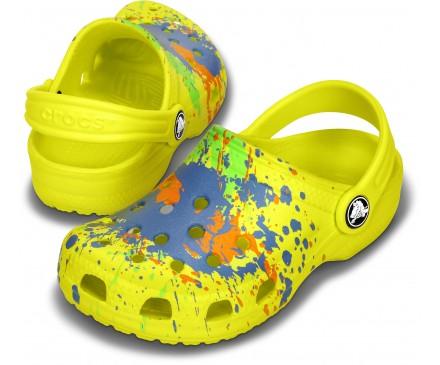 Kids' Classic Splatter Clog