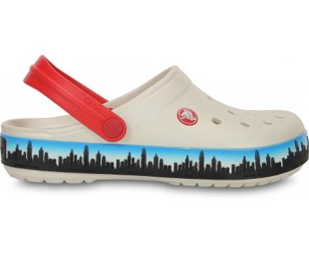 Crocband™ Hong Kong Skyline Clog